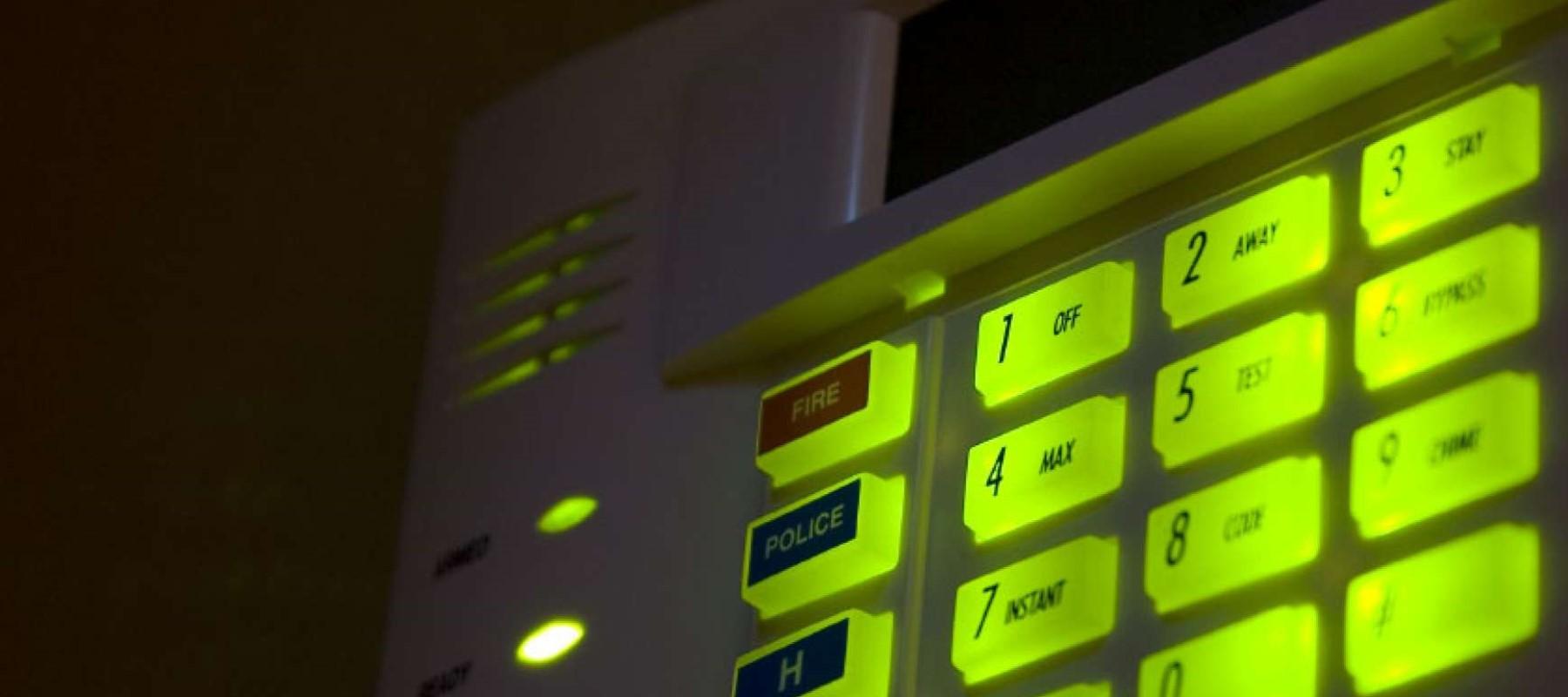 Inbraak alarmsystemen